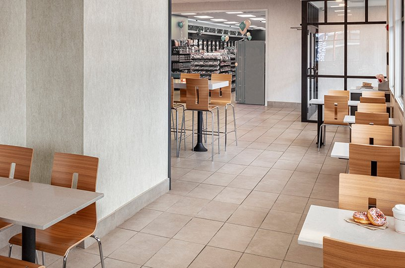 RAMPART Certified for Foodservice Interiors
