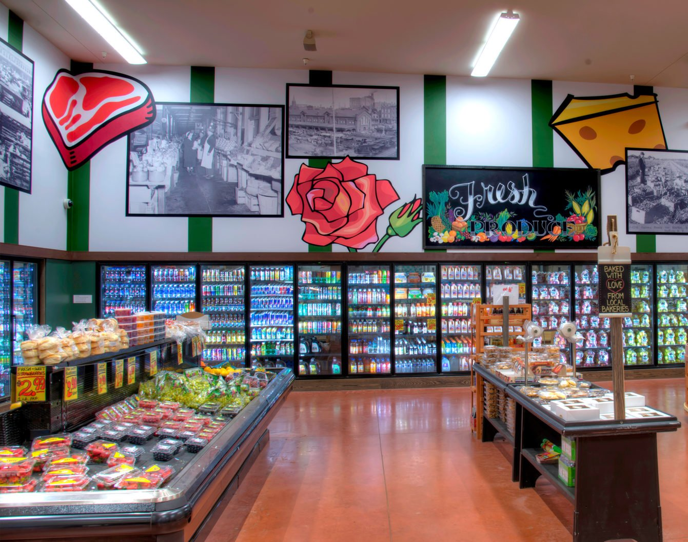 Digital grocery store
