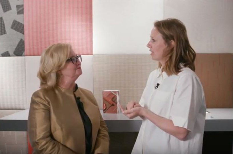 WATCH: Interior Design interviews Aliki van der Kruijs at NeoCon showroom