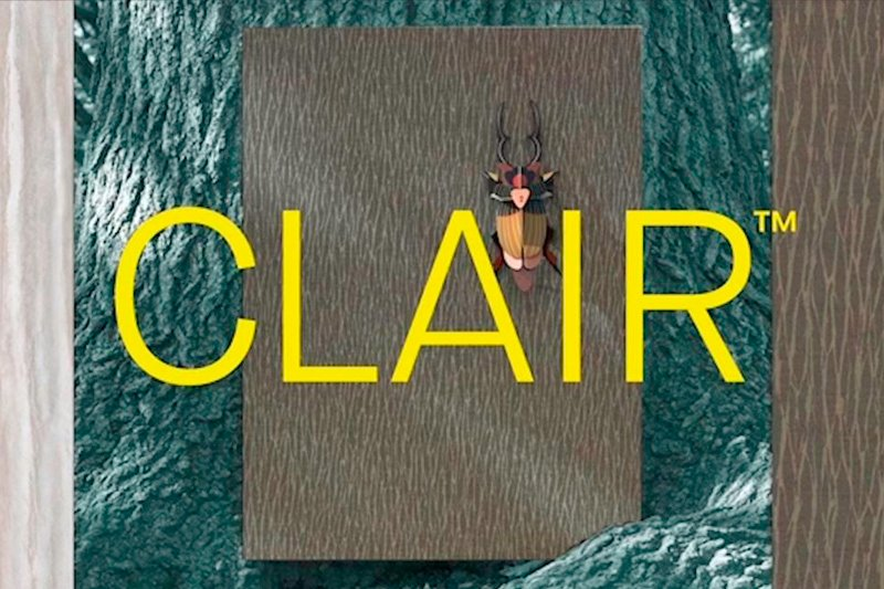 CLAIR: PVC-free Type II Wallcovering