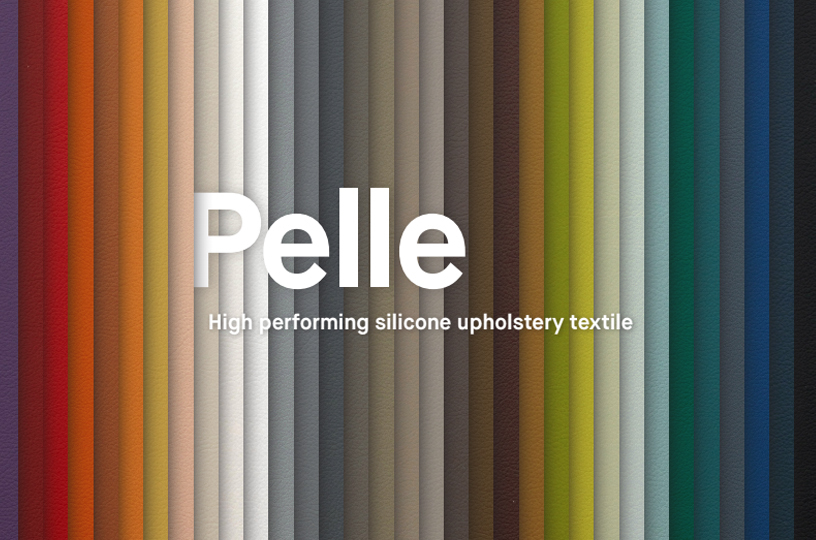 Pelle: High Performing Silicone Upholstery Textile